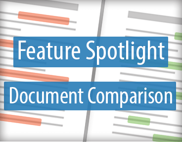 VirtualViewer HTML5 New Feature: Document Comparison